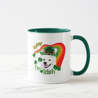 American Eskimo Dog St Patricks Mug