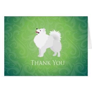American Eskimo Dog - Thank You Card