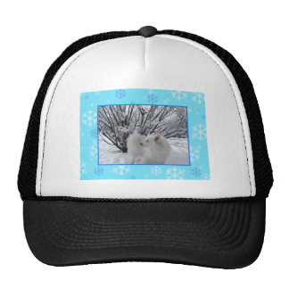 American Eskimo Dog Trucker Hat