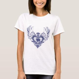 American Eskimo Dog Winged Heart T-Shirt