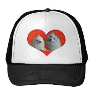 American Eskimo Dogs Trucker Hat