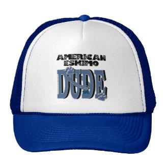 American Eskimo DUDE Hats