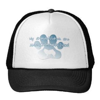 American Eskimo Grandchildren Trucker Hat