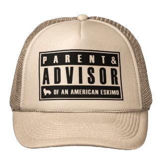 American Eskimo Trucker Hats