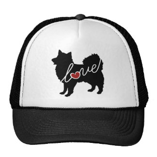 American Eskimo Love Trucker Hat