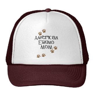 American Eskimo Mom Mesh Hat