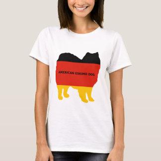 american eskimo name flag silo T-Shirt