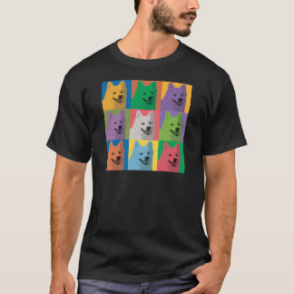 American Eskimo Pop-Art T-Shirt