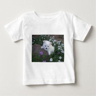 American Eskimo Puppy Dog Baby T-Shirt