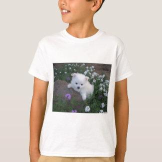 American Eskimo Puppy Dog T-Shirt