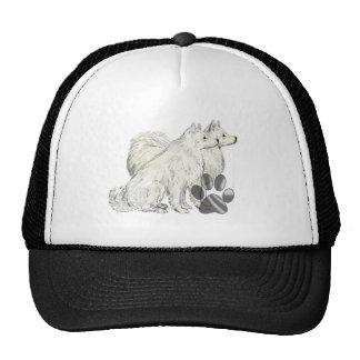 american eskimos and pawprints trucker hat