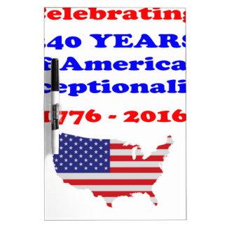 American Exceptionalism Dry Erase Board