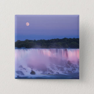 American Falls at Dusk 2 Inch Square Button