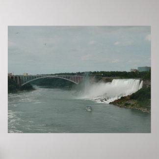 American Falls at Niagara Falls Poster