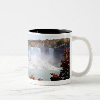 American Falls at Niagara Falls Two-Tone Coffee Mug