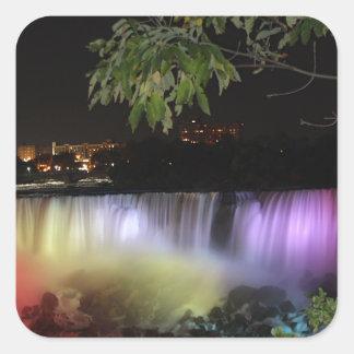 American Falls, Canada Square Sticker