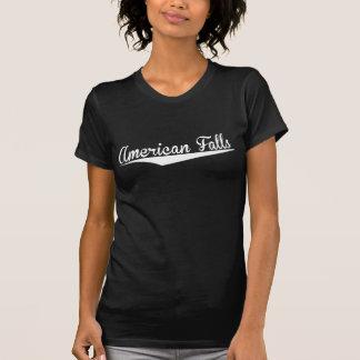 American Falls, Retro, T Shirts