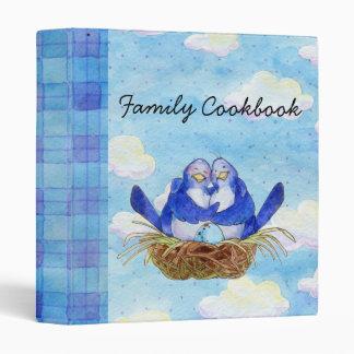 American Family Cookbook Vinyl Binder