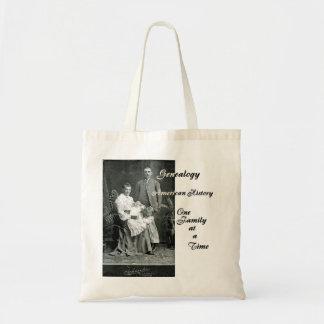 American Family History Genealogy Bag
