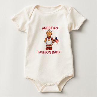 American Fashion Baby Romper
