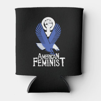 American Feminist Can Cooler