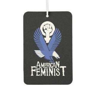 American Feminist Car Air Freshener
