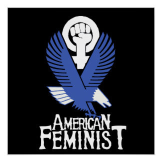 American Feminist Poster
