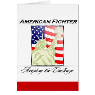 American Fighter Liberty Tribute Card