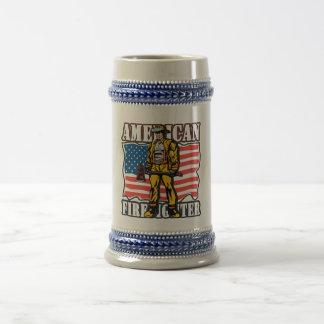 American Firefighter Beer Stein