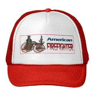 American Firefighter Trucker Hat