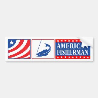 American Fisherman Bumper Sticker