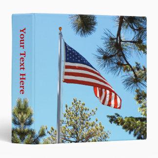 American Flag 1.5 inch Binder