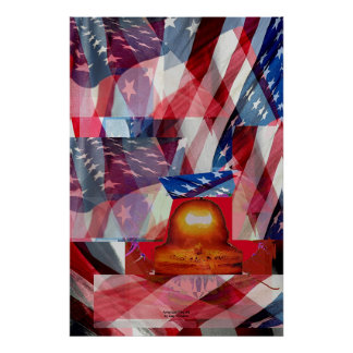 American Flag #3 Poster