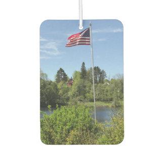 American Flag 906 Car Air Freshener