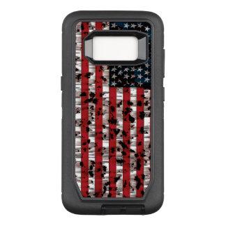 American Flag Aged OtterBox Defender Samsung Galaxy S8 Case