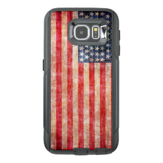 American Flag Aged OtterBox Samsung Galaxy S6 Case