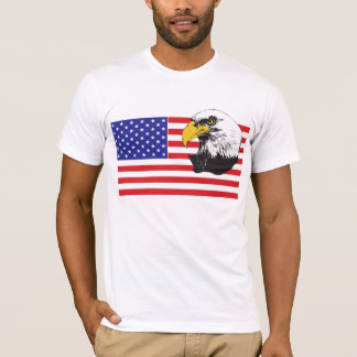 American Flag and Eagle T-Shirt
