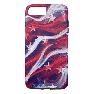 American flag Apple iPhone Tough Phone Case