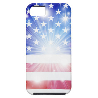 American flag background iPhone 5 cover