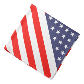 American flag bandana | patriotic stars & stripes