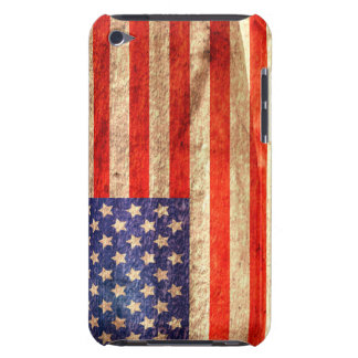 American Flag Barely There iPod Cases