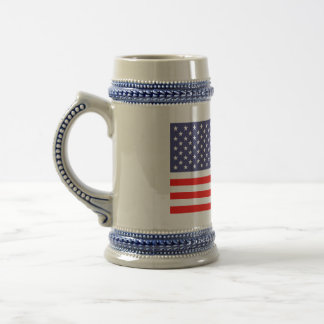 American flag beer mugs