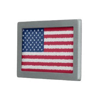 American Flag Belt Buckles