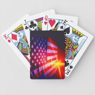 American Flag Bicycle® Poker Playing Cards. Bicycle Playing Cards
