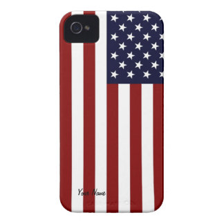 American Flag  BlackBerry Bold Case
