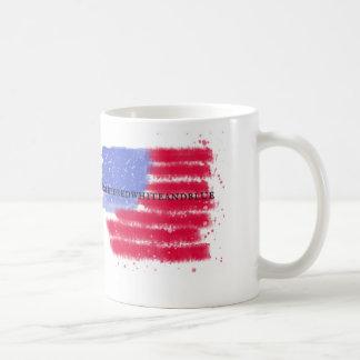 American Flag '#bleedredwhiteandblue' Mug