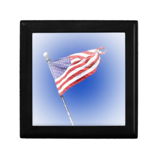 American flag Box Jewelry Box