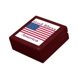 American Flag Box Gift Boxes