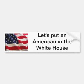 American Flag Bumpersticker Bumper Stickers