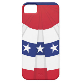 American Flag Bunting iPhone 5 Cover